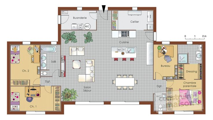 24 best images about idées plans on Pinterest House plans, Home - plan petite maison 70 m2