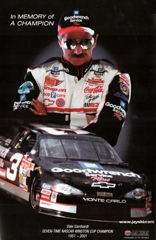 rember dale earnhart sr | yrs ago today - RIP Dale Earnhardt Sr. - Club Lexus Forums