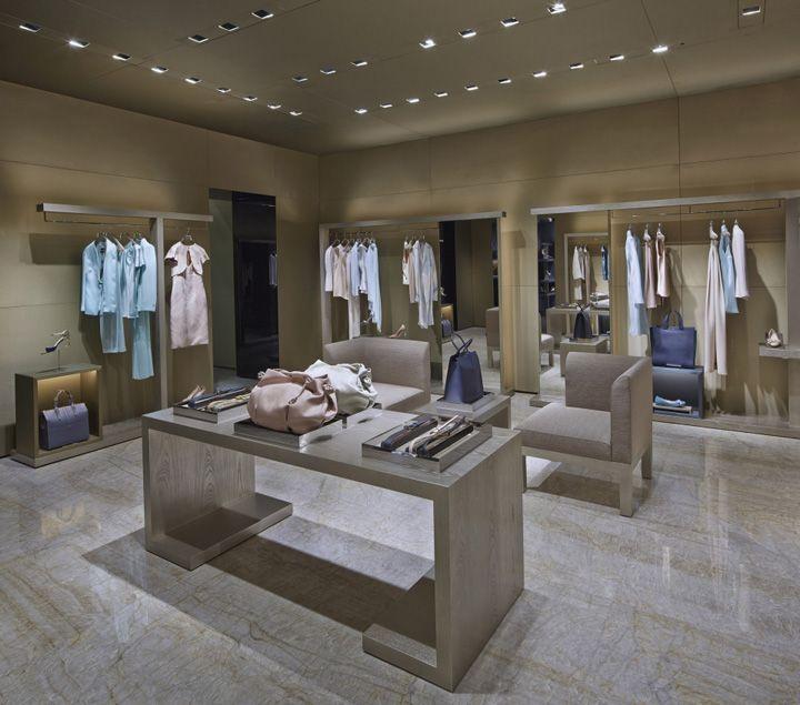 Giorgio Armani store, Paris store design