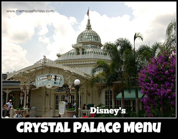 Considering the Crystal Palace character meal at Magic Kingdom?  Here's the menu.