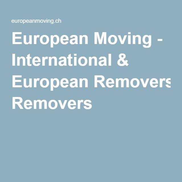 European Moving - International & European Removers