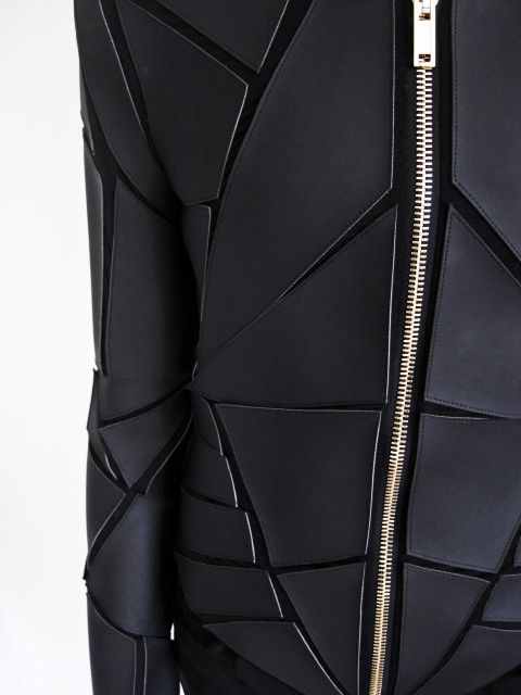 Gareth Pugh Geometric Paneled Jacket detail