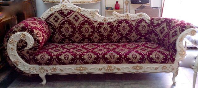 Barock Sofa - Ein Traum in Ivory und Gold! von Royal Classics Stilmöbel auf DaWanda.com