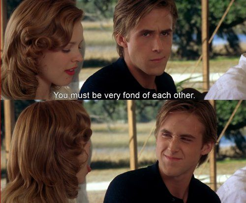 "Scenes in ""The Notebook"""