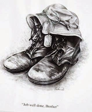 """Children's Poem: """"Daddy's Boots"""""""