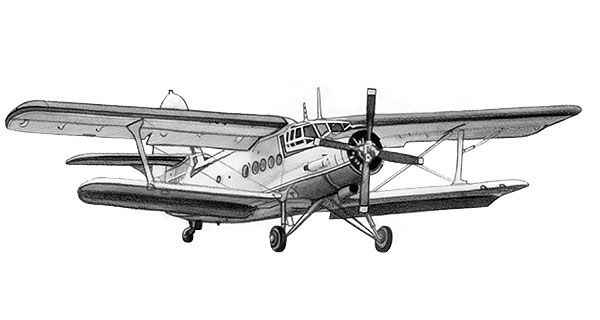 Antonov an-2 http://www.biplane.link/ Plane - Aircraft - WWI - WW2 ...