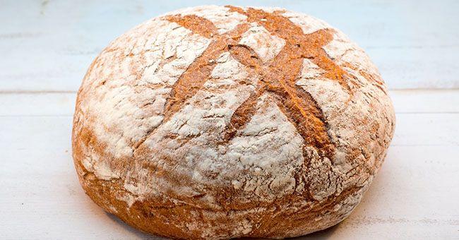 Pane di grano saraceno fatto in casa