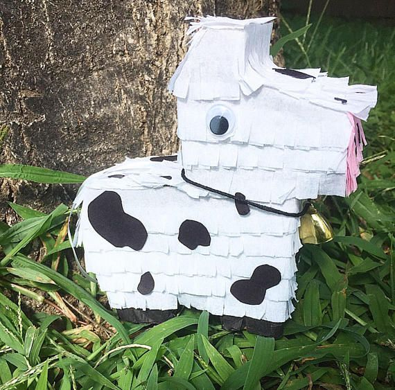 how to make a cow pinata