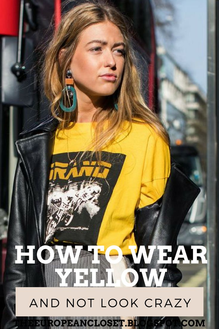 we've seen yellow in pretty much every S/S fashion show and also on our favourite street style stars: they have proved that, although this is a very tricky colour to wear, you can pull it off, if you know how to style it correctly.