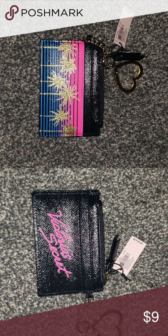 Victoria Secret credit card holder Nwt Victoria Secret credit card holder. Smoke…