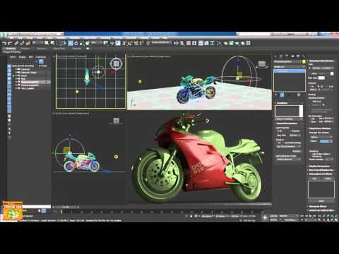 3ds max 2017 ART Rendering Tips Area Light