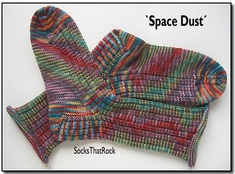 Space Dust - die Socken