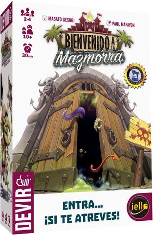 Bienvenido a la Mazmorra  https://boardgamegeek.com/boardgame/150312/welcome-dungeon