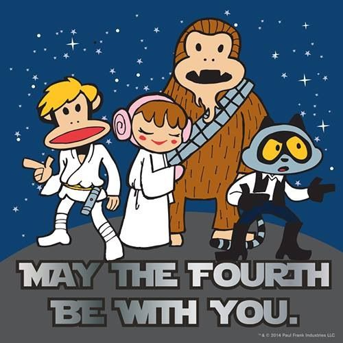 May The 4th Be With You Best: 17 Best Images About Paul Frank Industries On Pinterest