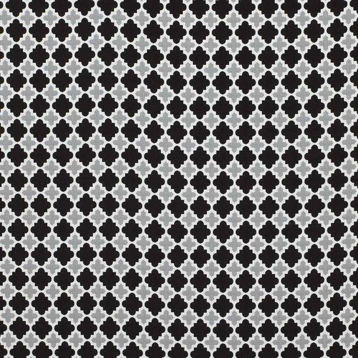 warwick fabrics bells beach ash black and white monochrome outdoor fabrics