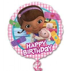 Doutoura Brinquedos Happy Birthday Foil Balloon