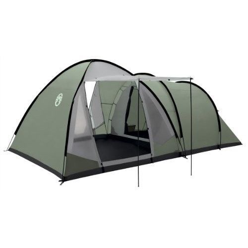 Family Camping Tent Picnic Outdoors Canopy Green 5 Person Man Tunnel Dome Hiking #FamilyCampingTent