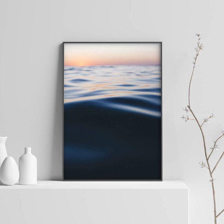 Deep Blue Sea Print, Blue Water Print, Abstract Water, Water Photography, Home Decor, Abstract Blue, Sea Art, Office Decor http://etsy.me/2EGpht4 #art #abstractwater #waterphotography #deepblueseaprint #bluewaterprint #homedecor #abstract #blue #office #officedecor