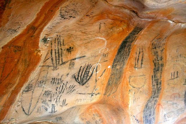 Ancient Aboriginal paintings
