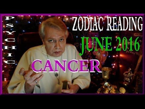 Psychic Reading for Cancer, June 2016. My general reading for groups of people around the world with the zodiac sign of Cancer.