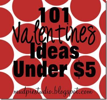 101 Valentine Ideas from mudpiestudio
