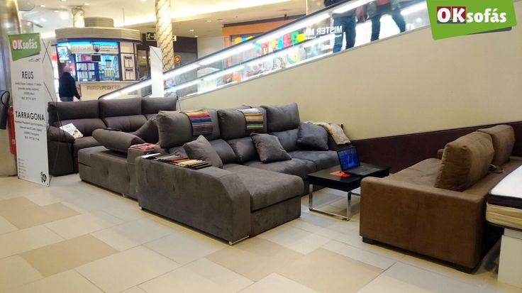 Pop Up Store #OKSofás en el centro comercial Parc Central de #Tarragona