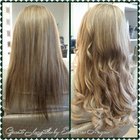 25 best edwinas great lengths kilkenny images on pinterest great 40cm great lengths hair extensions blonde tones curled pmusecretfo Gallery