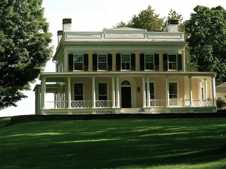 Appalachian style home with wrap around porch plantation Plantation style house