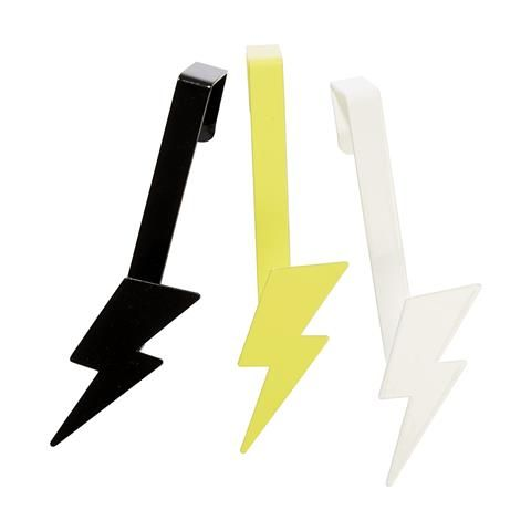 Lightning Hooks - Set of 3