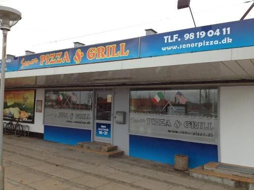 Señor Pizza - Velkommen