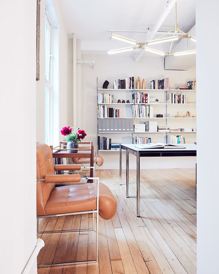 The Manhattan offices of design brand PELLE