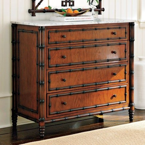 British Colonial Decor British Colonial Design Hampstead Dresser Williams Sonoma