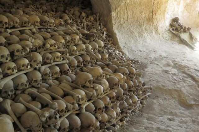 Italy has many spooky places and scary sites to visit including catacombs, mummy museums, witch towns, torture museums, and creepy spots in Rome.