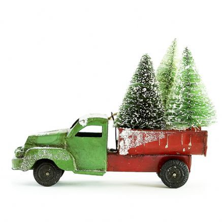 Vintage Collection tree delivery truck