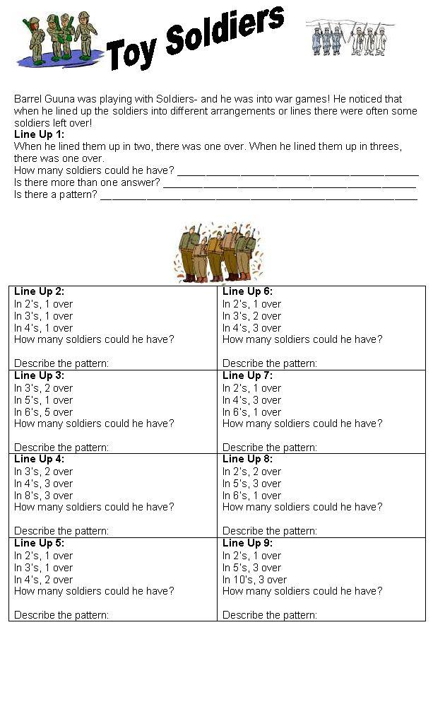 97 Best Fun Maths Work Sheets Images On Pinterest Fun Math Maths