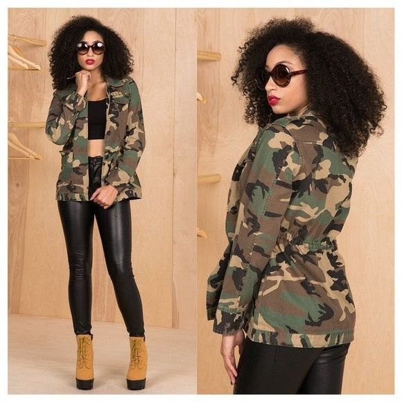 Army fatigue jacket New never used Jackets & Coats Blazers