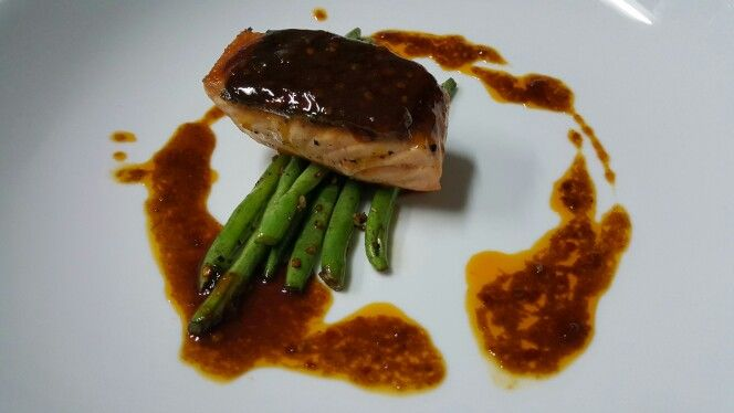 Grilled Salmon #homecooking