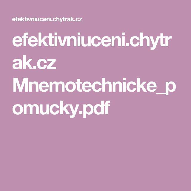 efektivniuceni.chytrak.cz Mnemotechnicke_pomucky.pdf