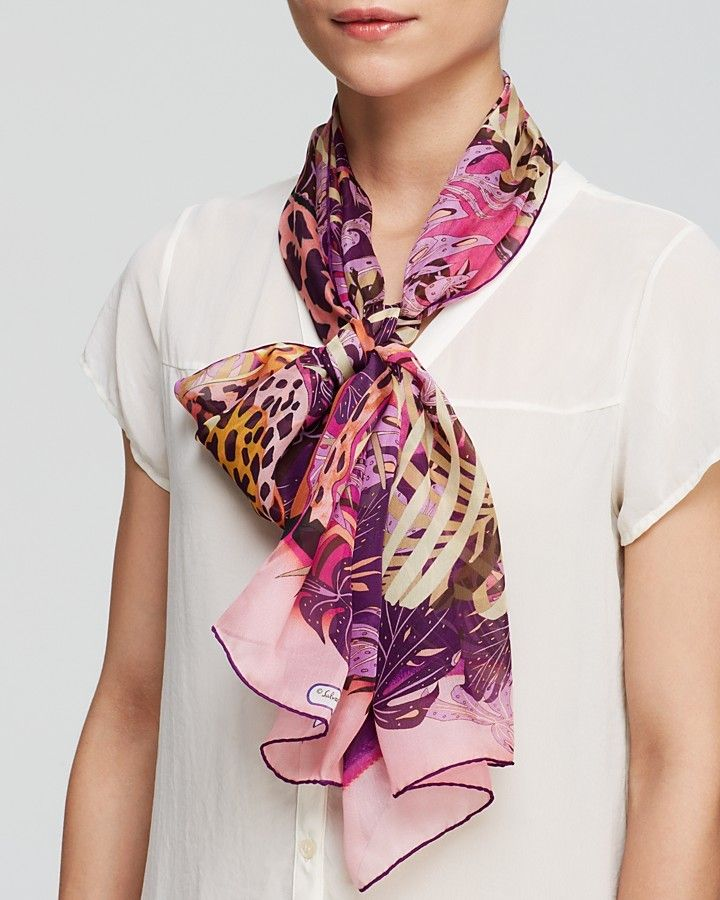 17 best ideas about summer scarf tying on