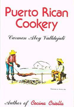 Libro de Recetas de Puerto Rico. Best cook book for Puerto Rican it come in english....