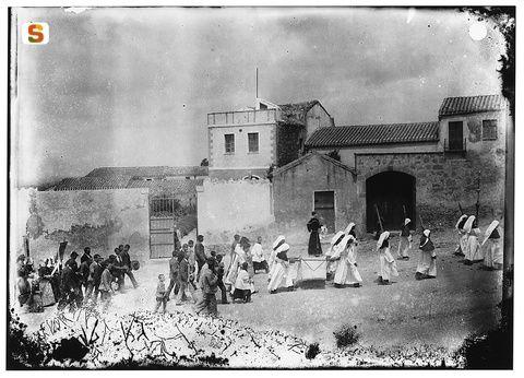 Giulio Pili, Processione della confraternita di Sant'Antonio