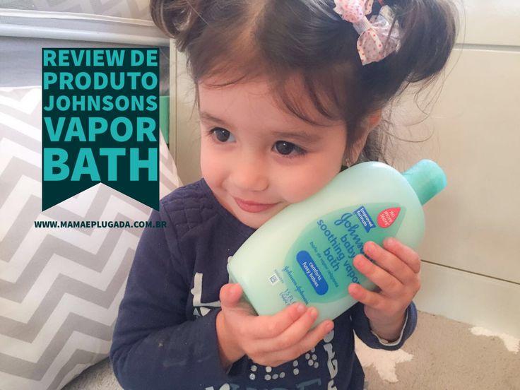 Review de Shampoo Infantil: Johnsons Baby Soothing Vapor Bath