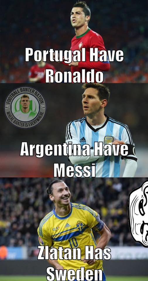 Zlatan Has Sweden
