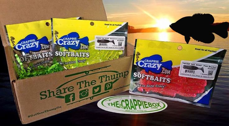 <p>Get a box jam packed with crappie lures every month, delivered conveniently to your doorsteps.</p>