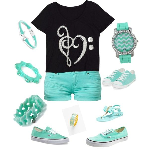 Summer outfit for school