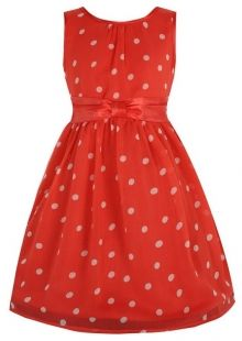 LindyBop dětské šaty Mini Candy, červené