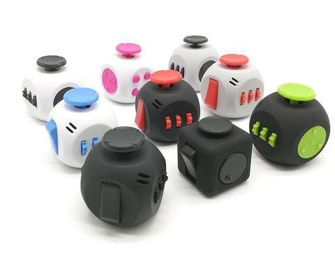 Cube 3 Fidget Spinner