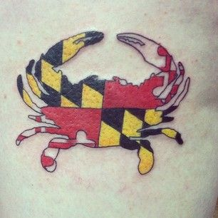 Maryland | 50 Awesome State Tattoos That Will Fill You With Hometown Pride