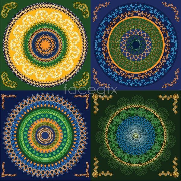 Circular pattern 2 Vector
