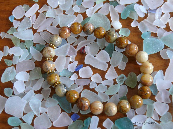 Jaspe #jewelry #handmade #gemstones #joyeria #hechoamano #artesania #piedras